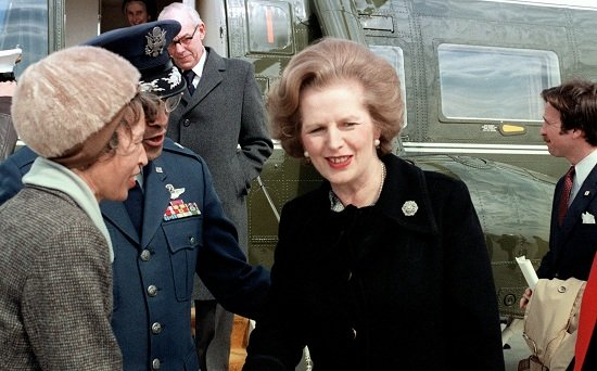 Margaret Thatcher is named the most influential woman