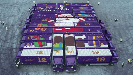 Cadburys Christmas Advert