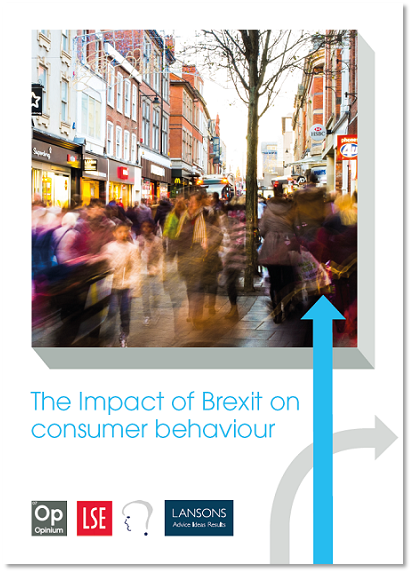 The impact of Brexit on consumer behaviour