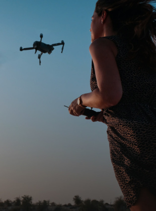 Safeguarding the future of aviation: tracking attitudes to drone use