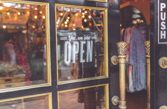 High street re-opening provides lifeline for retailers as insolvency risks halve